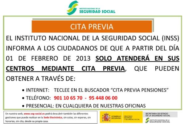 cita previa Seguridad Social Canarias